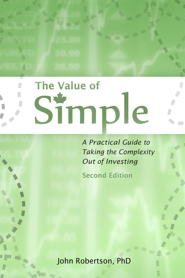 The Value of Simple Second Edition cover image
